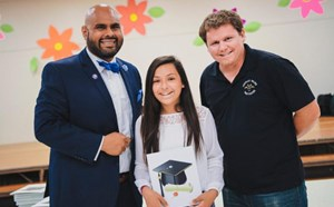 Paine Hosts Promotion Ceremony for Sixth Graders - article thumnail image